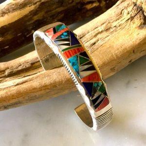 Vintage Navajo Yazzie & Tolino  Bracelet